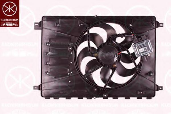 Вентилятор, охлаждение двигателя KLOKKERHOLM 25562601