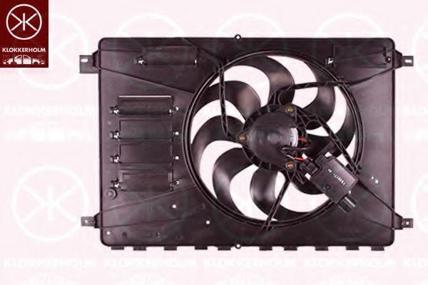 Вентилятор, охлаждение двигателя KLOKKERHOLM 25562602