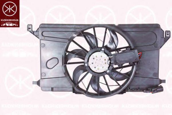 Вентилятор, охлаждение двигателя KLOKKERHOLM 25332601
