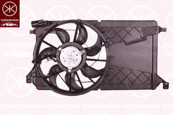 Вентилятор, охлаждение двигателя KLOKKERHOLM 25332603