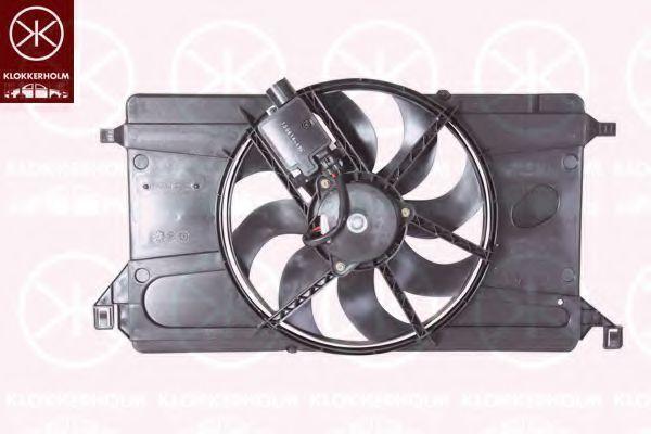 Вентилятор, охлаждение двигателя KLOKKERHOLM 25332606