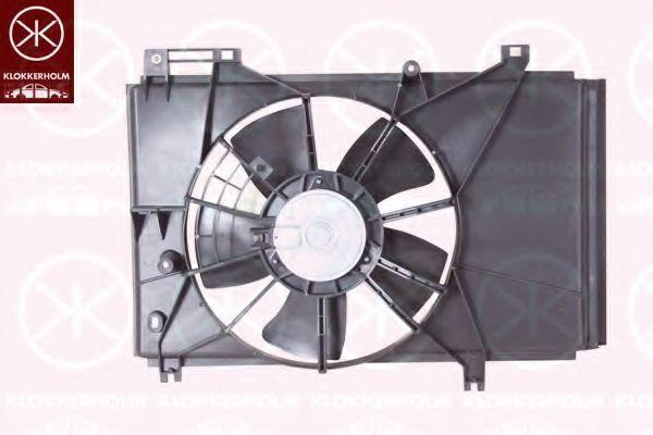 Вентилятор, охлаждение двигателя KLOKKERHOLM 34212601