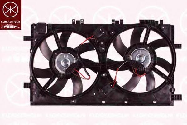 Вентилятор, охлаждение двигателя KLOKKERHOLM 50792601