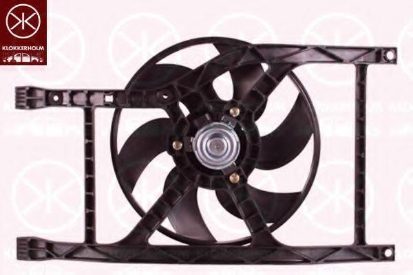 Вентилятор, охлаждение двигателя KLOKKERHOLM 25062601