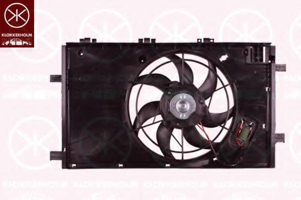 Вентилятор, охлаждение двигателя KLOKKERHOLM 50792604
