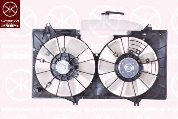 Вентилятор, охлаждение двигателя KLOKKERHOLM 34522601
