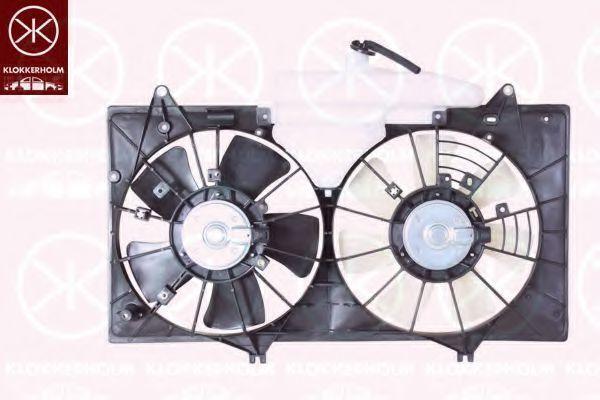 Вентилятор, охлаждение двигателя KLOKKERHOLM 34522602