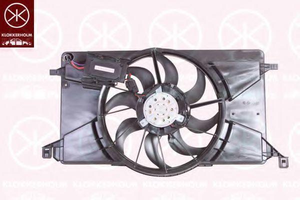 Вентилятор, охлаждение двигателя KLOKKERHOLM 25362601