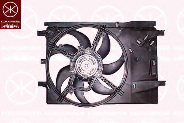 Вентилятор, охлаждение двигателя KLOKKERHOLM 20242601
