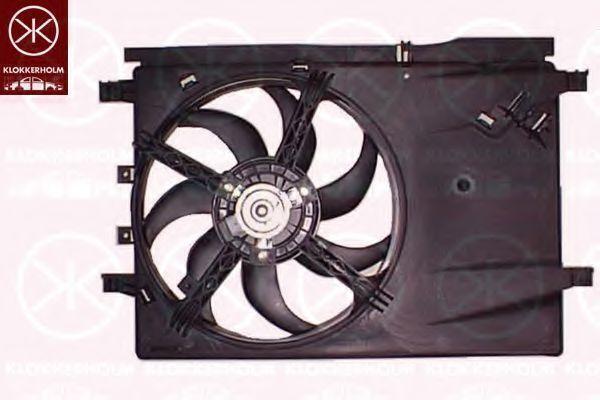 Вентилятор, охлаждение двигателя KLOKKERHOLM 20242602