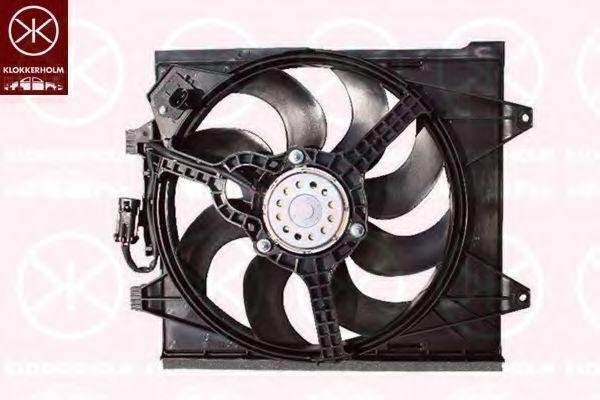 Вентилятор, охлаждение двигателя KLOKKERHOLM 20132601
