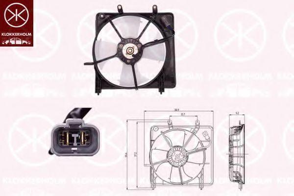 Вентилятор, охлаждение двигателя KLOKKERHOLM 29012601
