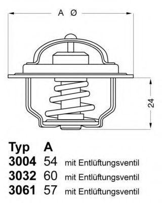 Термостат WAHLER 300488D1