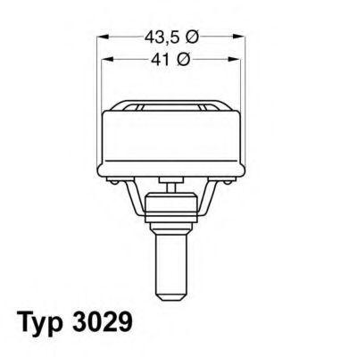 Термостат WAHLER 3029.86