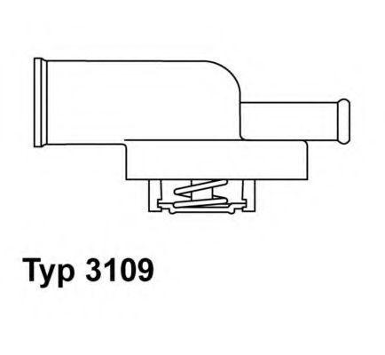 Термостат WAHLER 3109.87D