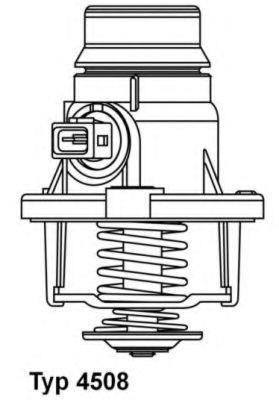Термостат WAHLER 4508105D