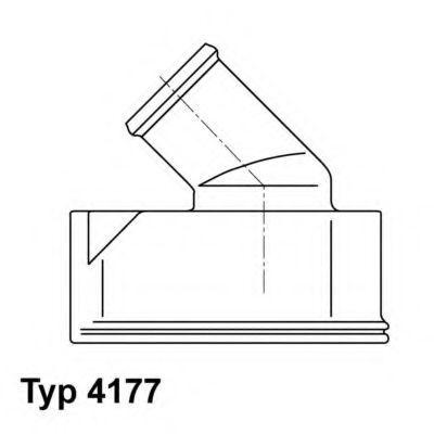 Термостат WAHLER 417792D