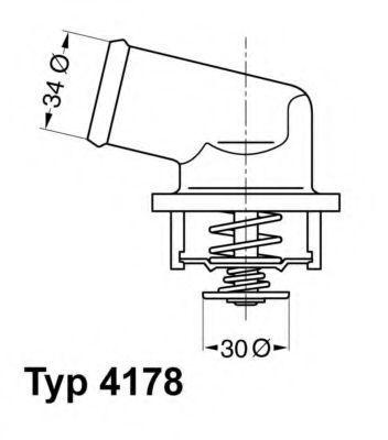 Термостат WAHLER 417892D