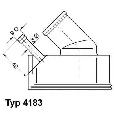 Термостат WAHLER 4183.92D