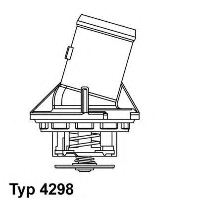 Термостат WAHLER 4298.87D