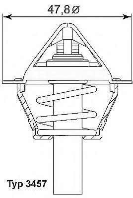 Термостат WAHLER 3457.90D