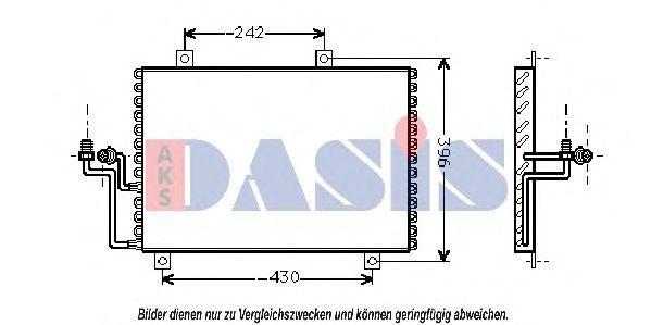 Конденсатор, кондиционер AKS DASIS 012240N