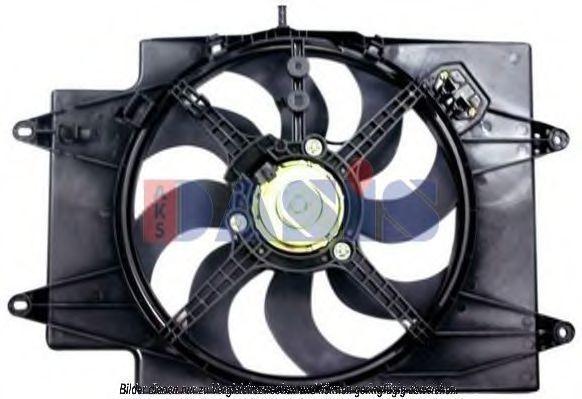 Вентилятор, охлаждение двигателя AKS DASIS 018000N