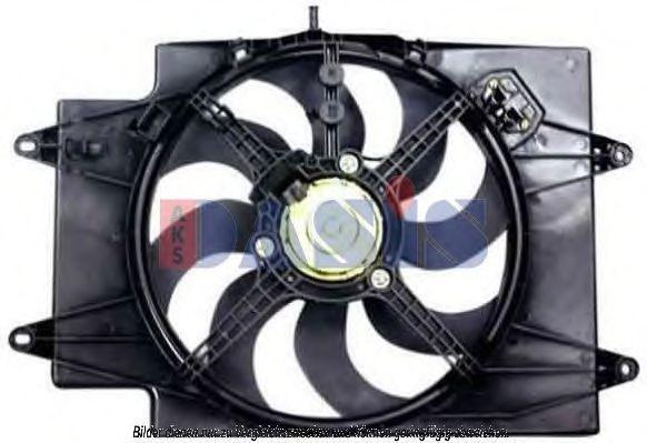 Вентилятор, охлаждение двигателя AKS DASIS 018002N
