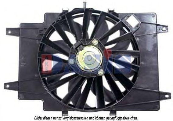 Вентилятор, охлаждение двигателя AKS DASIS 018003N