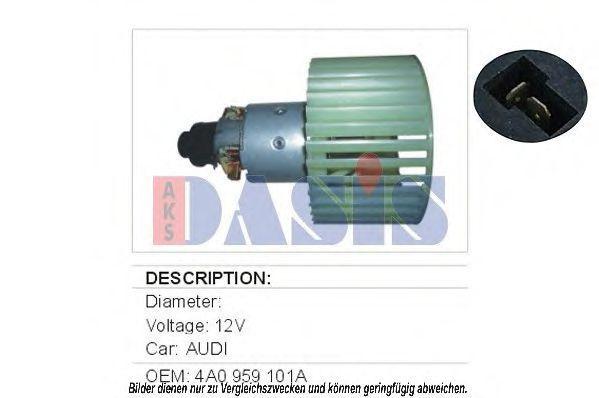 Вентилятор салона AKS DASIS 048022N