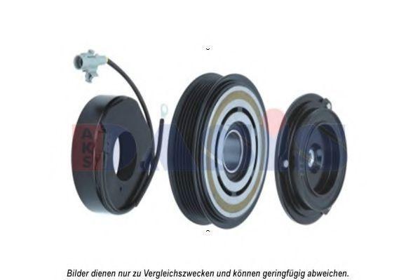 Электромагнитное сцепление, компрессор AKS DASIS 855003N