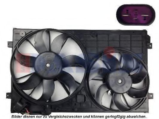 Вентилятор, охлаждение двигателя AKS DASIS 048108N