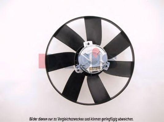 Вентилятор, охлаждение двигателя AKS DASIS 048160N