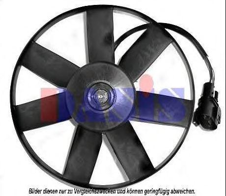 Вентилятор, охлаждение двигателя AKS DASIS 048590N