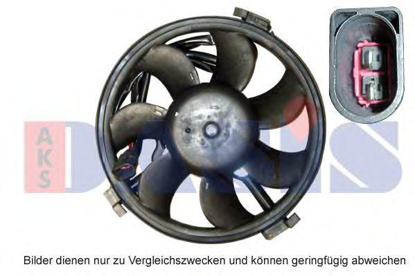 Вентилятор, охлаждение двигателя AKS DASIS 048700N