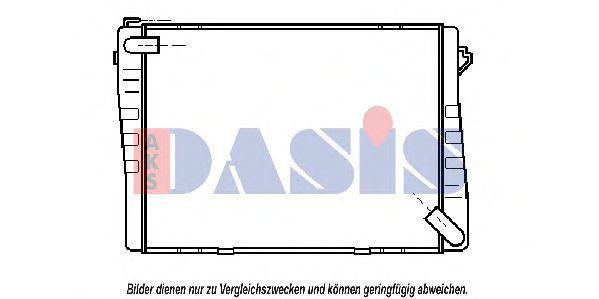 Радиатор, охлаждение двигателя AKS DASIS 050420N