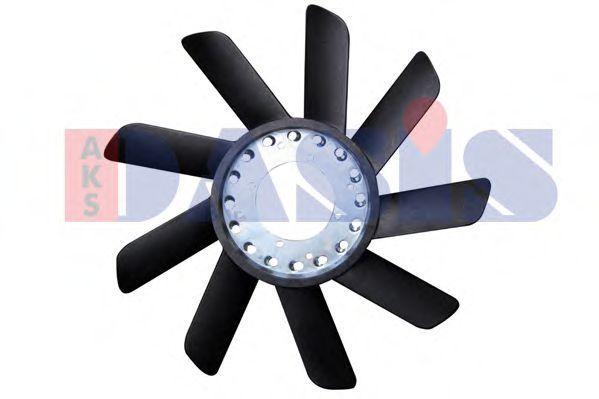 Крыльчатка вентилятора, охлаждение двигателя AKS DASIS 058004N