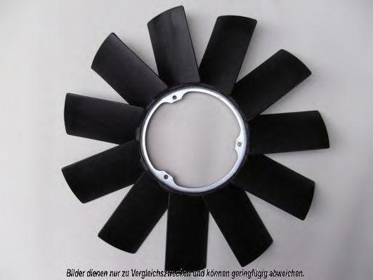 Крыльчатка вентилятора, охлаждение двигателя AKS DASIS 058014N