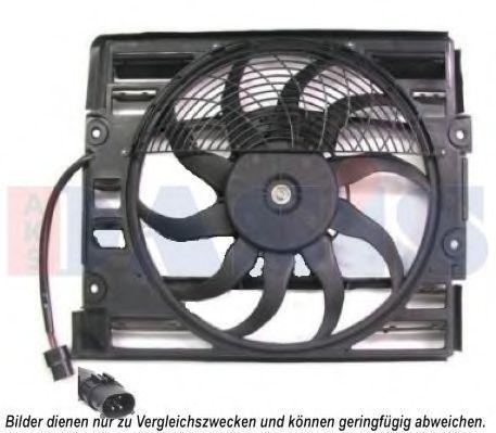 Вентилятор, охлаждение двигателя AKS DASIS 058026N