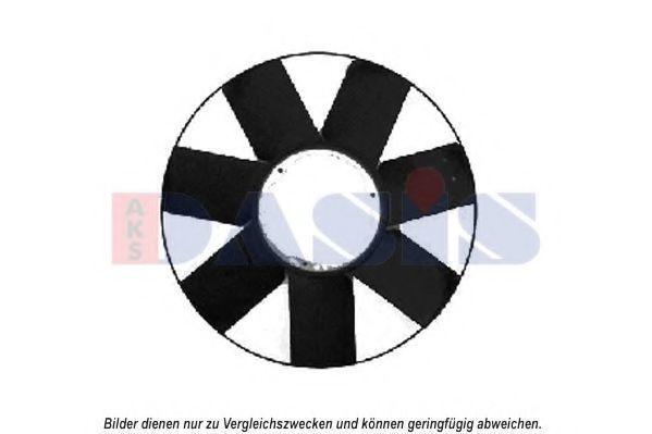 Крыльчатка вентилятора, охлаждение двигателя AKS DASIS 058029N