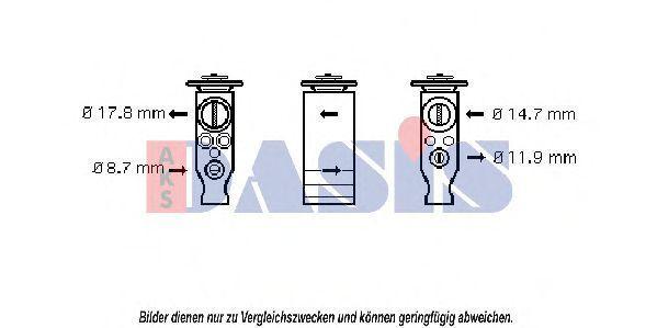 Радиатор, охлаждение двигателя AKS DASIS 060023N