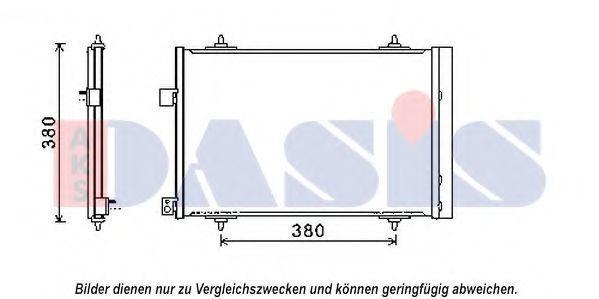 Конденсатор, кондиционер AKS DASIS 062022N