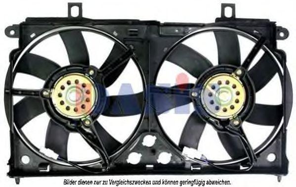 Вентилятор, охлаждение двигателя AKS DASIS 068004N