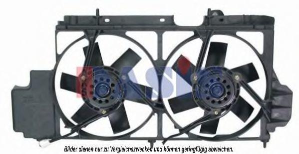 Вентилятор, охлаждение двигателя AKS DASIS 068008N