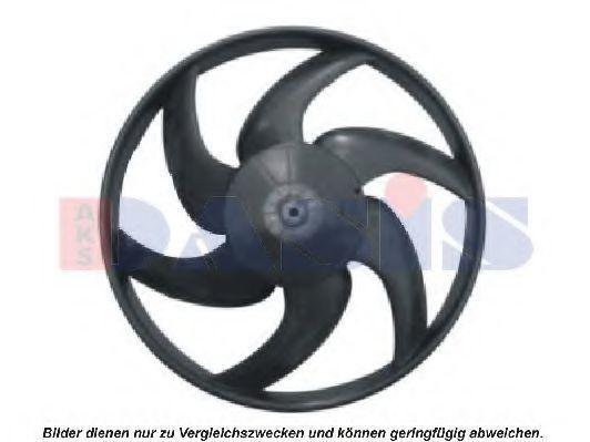 Вентилятор, охлаждение двигателя AKS DASIS 068013N