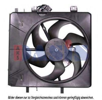 Вентилятор, охлаждение двигателя AKS DASIS 068018N