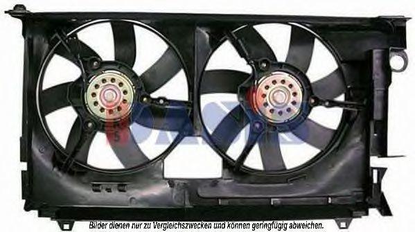 Крыльчатка вентилятора, охлаждение двигателя AKS DASIS 068020N
