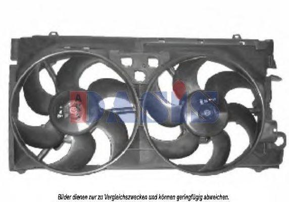 Вентилятор, охлаждение двигателя AKS DASIS 068022N