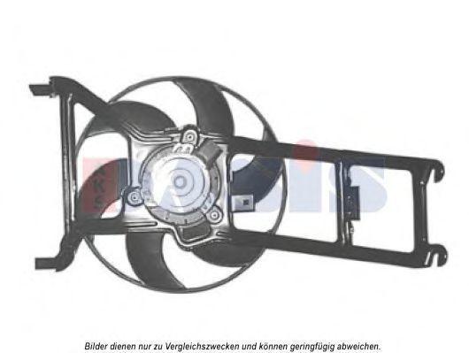 Вентилятор, охлаждение двигателя AKS DASIS 068024N