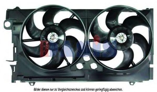 Вентилятор, охлаждение двигателя AKS DASIS 068026N